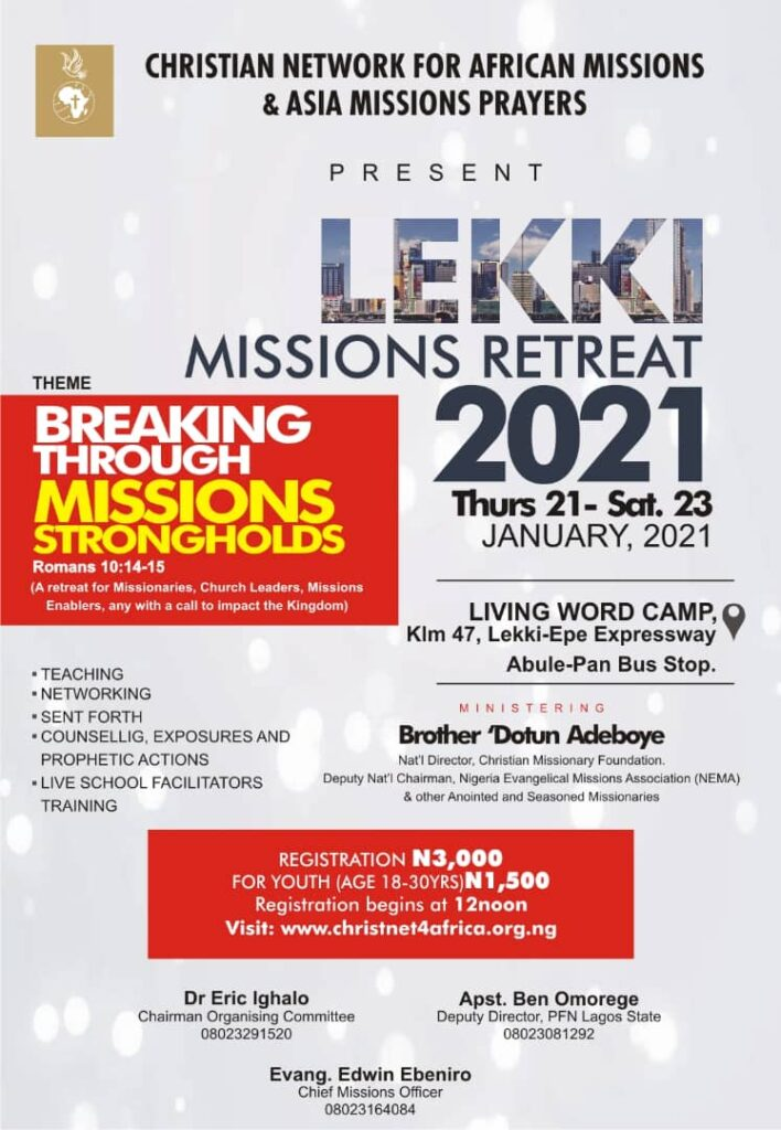 missions' retreat